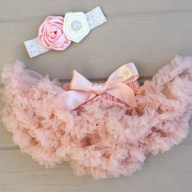 The Pink Flower Tutu Dress