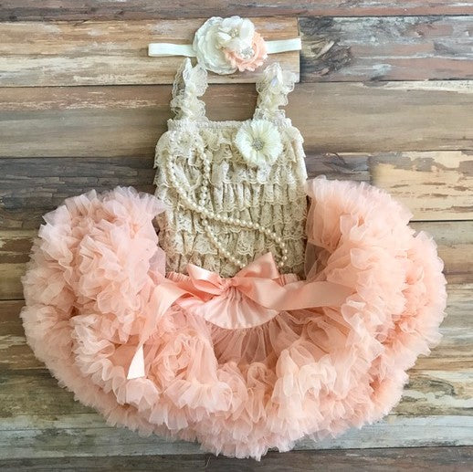 First Birthday Outfit. Girls Birthday Tutu. Cake Smash