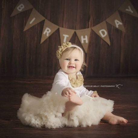 a2f37c0098b8 Baby girl first birthday outfit. Petti skirt birthday outfit