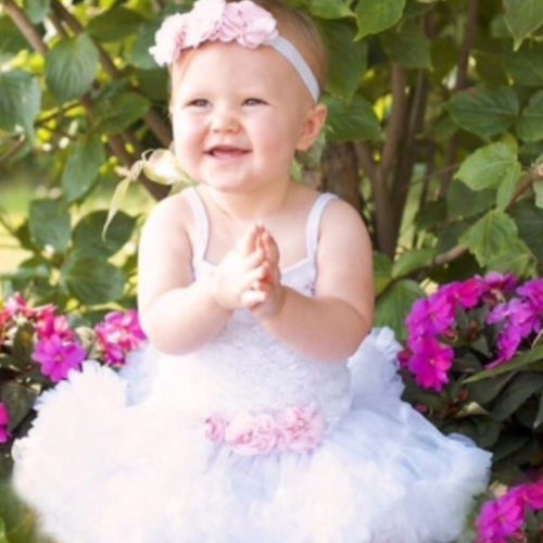 Baby Girl Dress. Baby Tutu Dress. Baby Picture Outfit