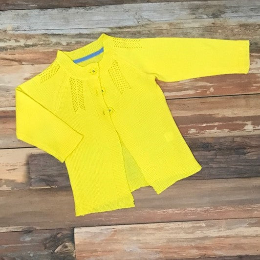 toddler girl yellow sweater