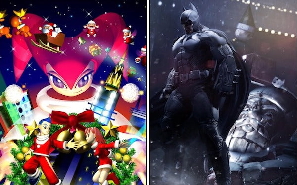 The 12 shades of Christmas video game music