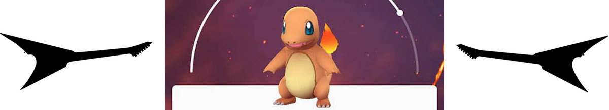 Charmander from Pokemon GO