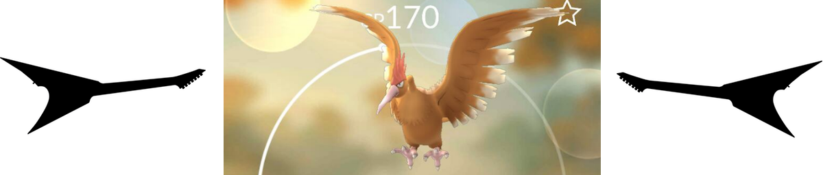 Fearow from Pokemon Go