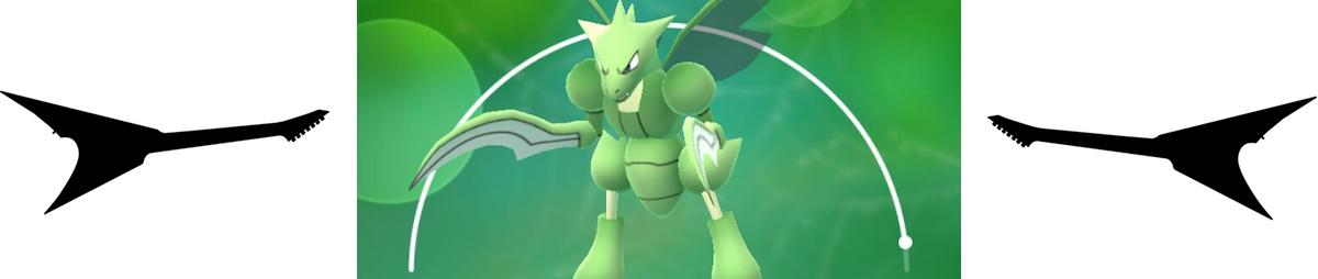 Scyther from Pokemon GO