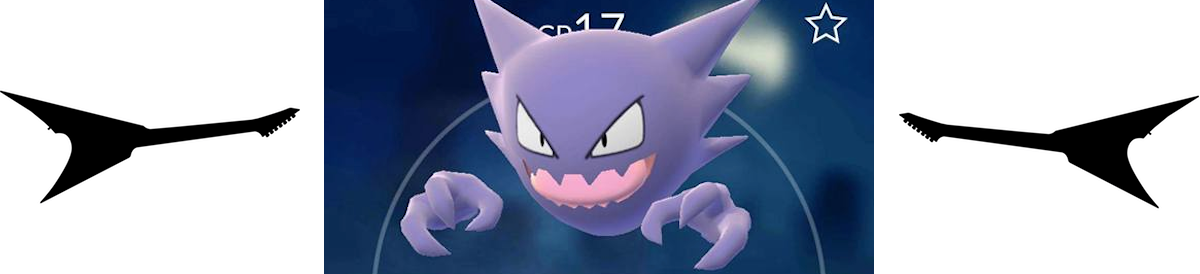 Haunter from pokemon GO