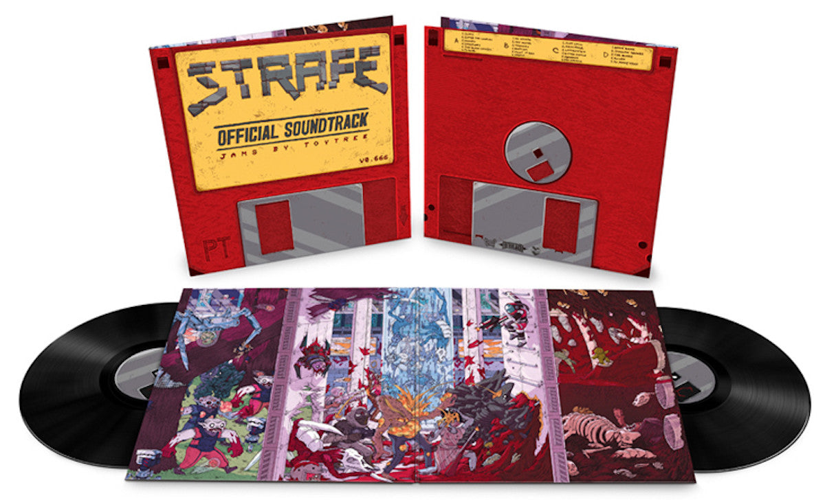 The STRAFE vinyl special edition available at LAcedrecords.com