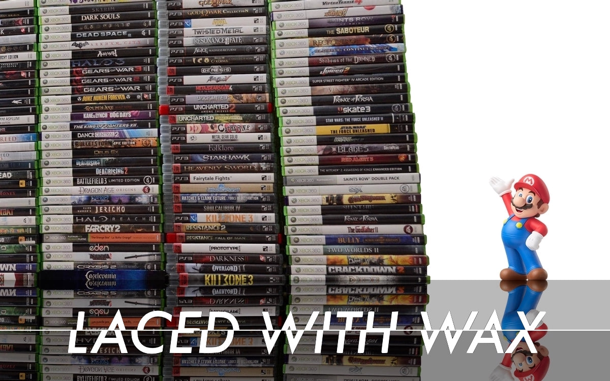 Laced With Wax The Pile of Shame game: Why we obsess over our personal video game backlogs