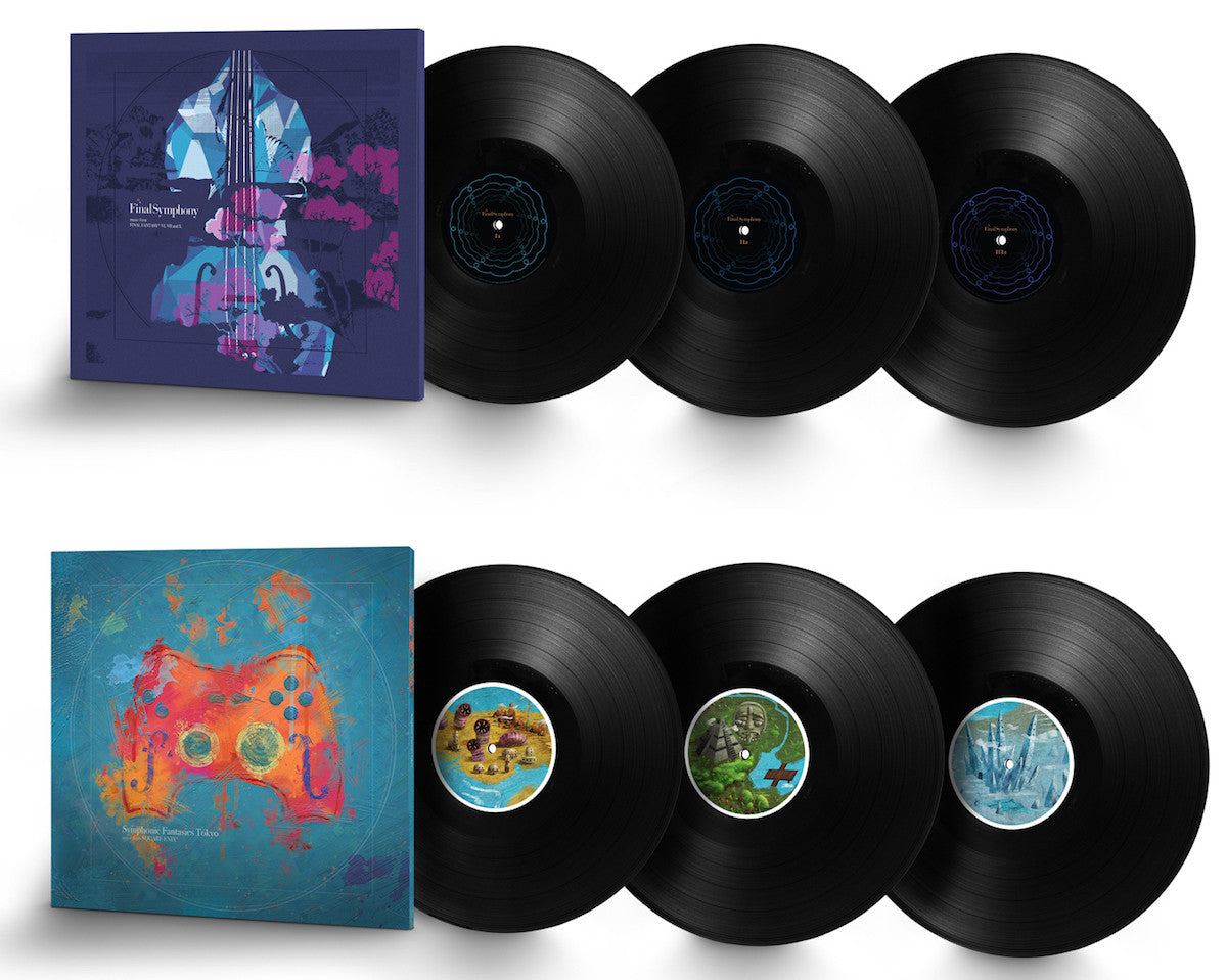 Final Symphony and Symphonic Fantasies on 180-gram vinyl