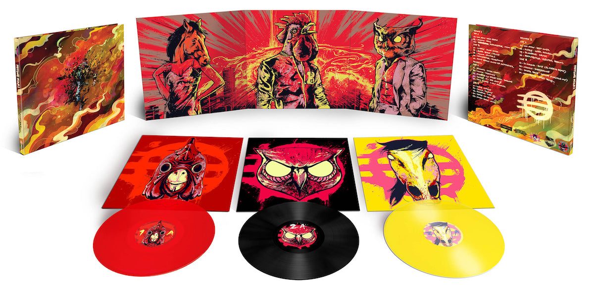 Hotline Miami collector's edition vinyl available from LacedRecords.com