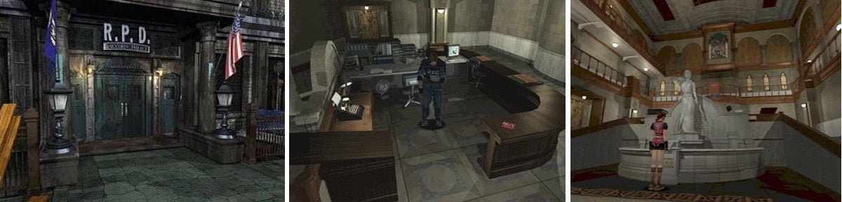 Resident Evil 2 Raccoon City Police Department