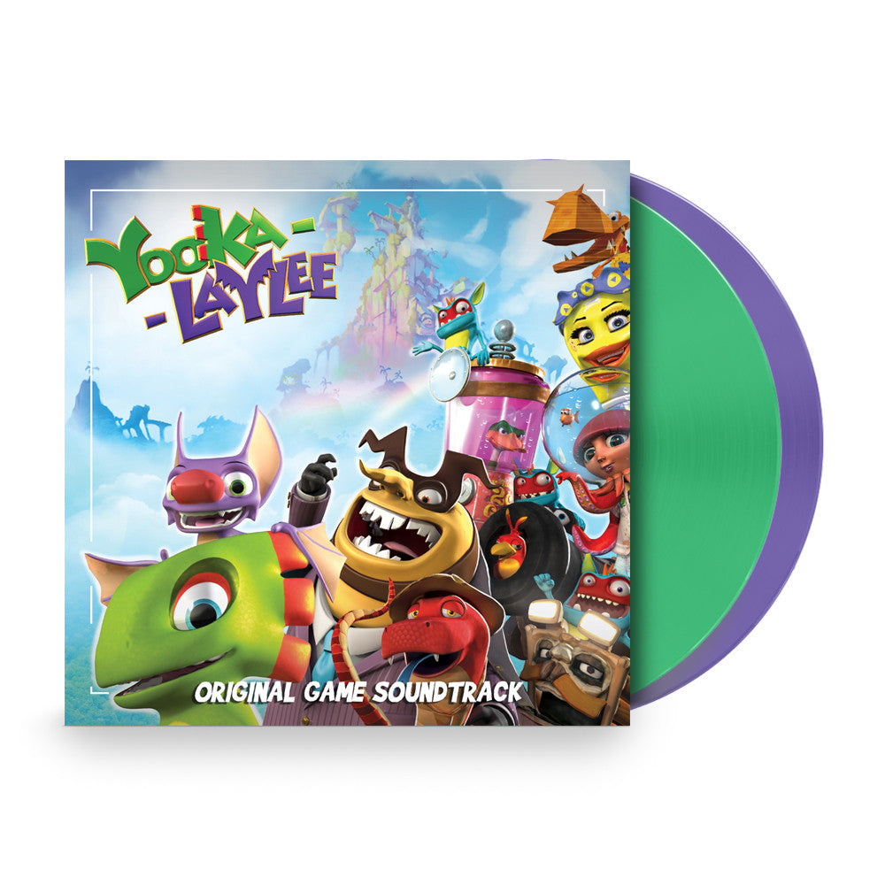 Yooka-Laylee (Deluxe Double Vinyl & Digital Download)