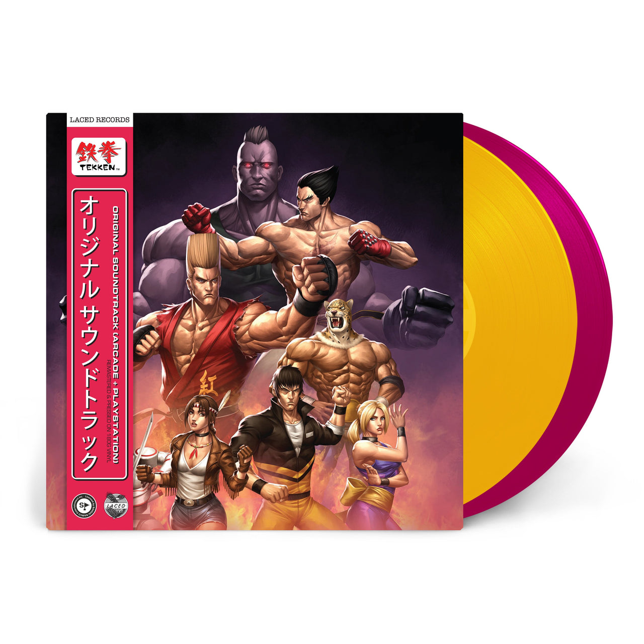 TEKKEN (Limited Edition Deluxe Double Vinyl)