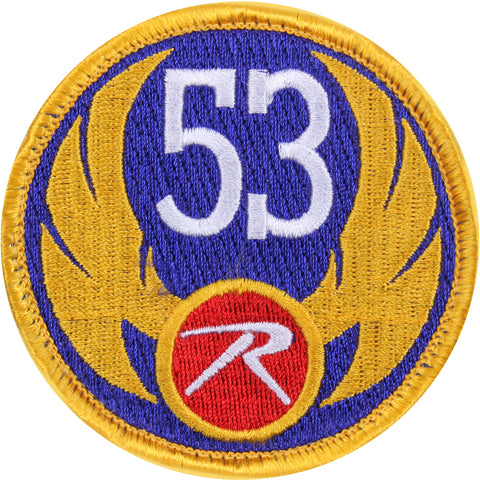 Rothco 53 Wing Morale Patch with Hook & Loop Closure 3""