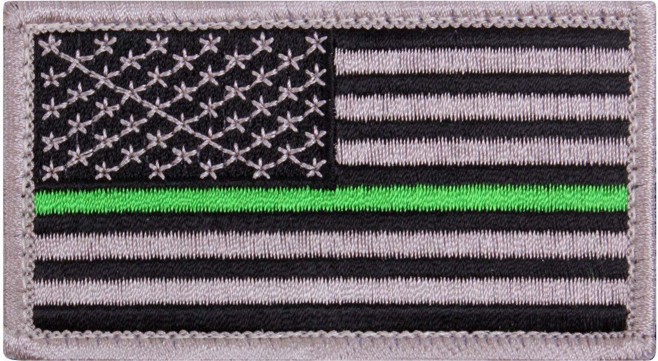 Thin Green Line US Flag Patch