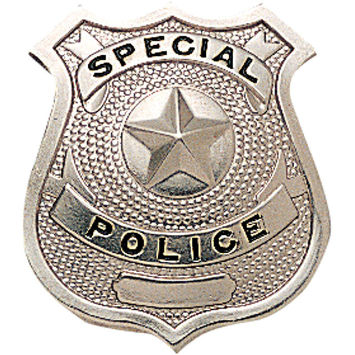 Silver Special Police Pin On Badge Army Navy Store