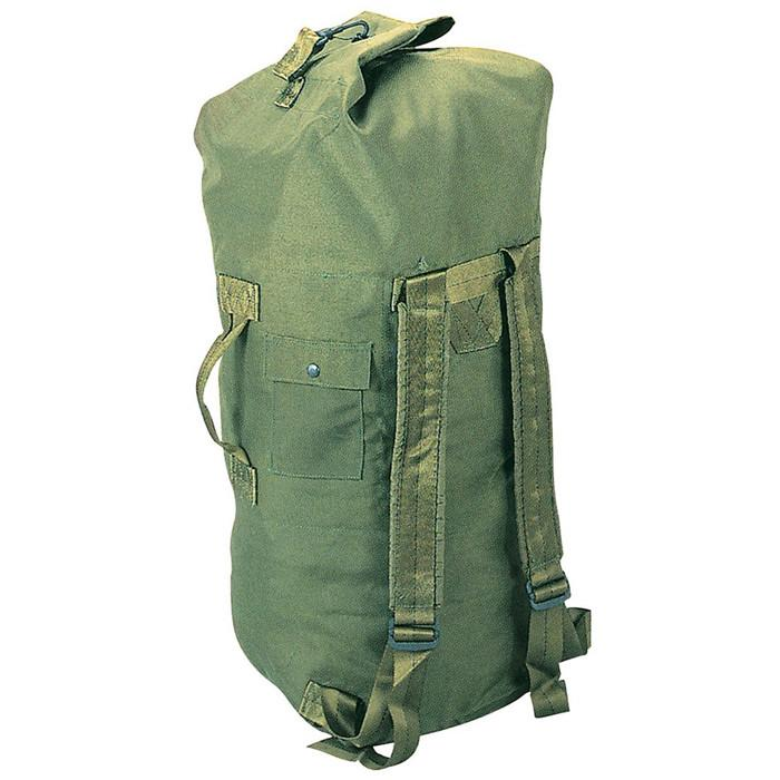 Olive Drab - Military Enhanced Double Strap Duffle Bag 24 in. x 36 in. 81829a837c39b