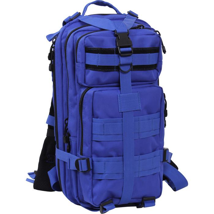 Blue - Military MOLLE Compatible Medium Transport Pack