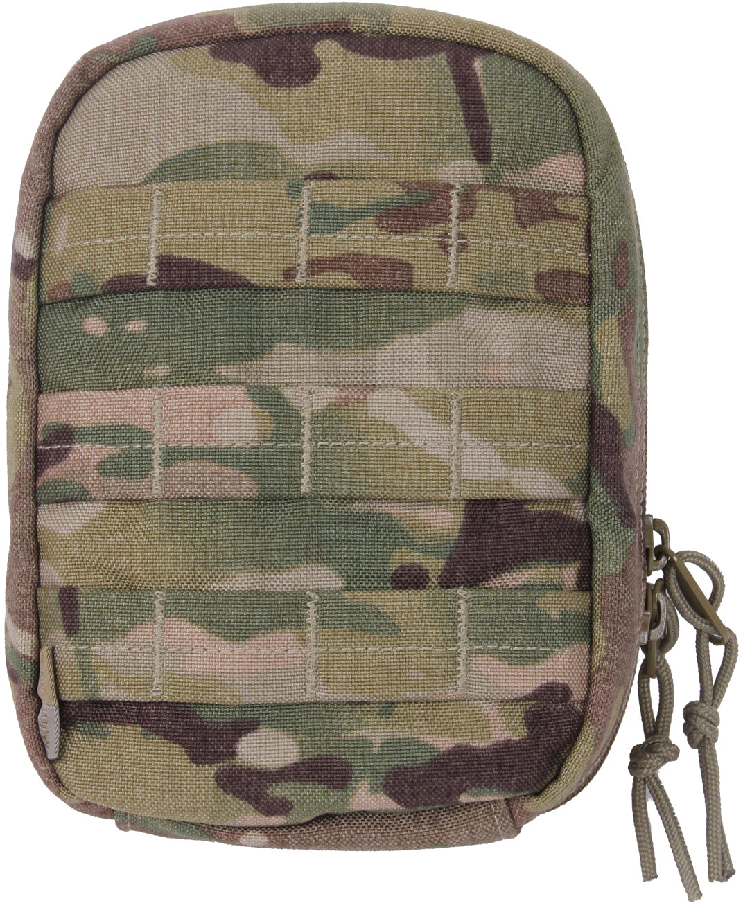Multi Cam - Military MOLLE Tactical First Aid Kit Pouch & First Aid Supplies
