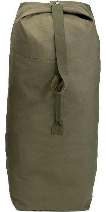 Olive Drab - Military Top Load Duffle Bag 30 in. x 50 in. - Cotton Canvas