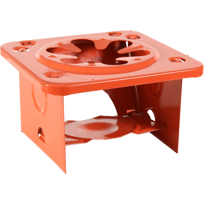Safety Orange - Single Burner Camping Folding Stove
