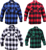 Buffalo Plaid - Sherpa Lined Flannel Jacket
