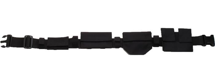 Black - Deluxe Military Adjustable SWAT Belt