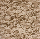 Digital Desert Camouflage - Military Bandana 27 in. x 27 in.
