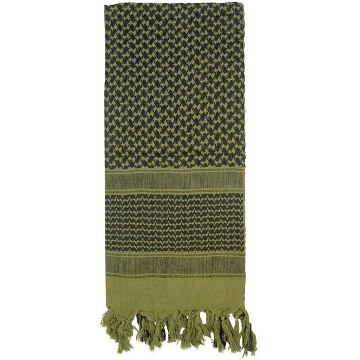 Olive Drab - Lightweight Tactical Desert Shemagh Scarf