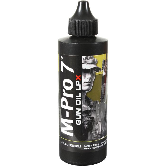 Black - Mil Spec M-Pro 7 Gun Oil LPX - CLP 4 Ounces