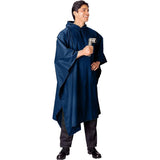 Navy Blue - GI Enhanced Military Style Poncho - Polyester Ripstop