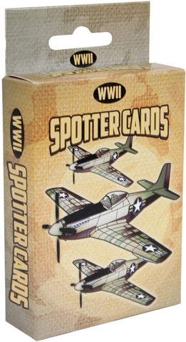 WW II Spotter Playing Cards