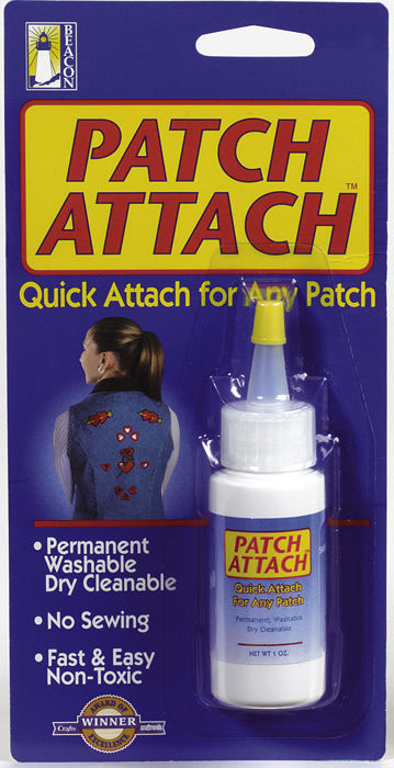 Patch Attach Permanent Washable Non-Toxic Patch Attachment Glue