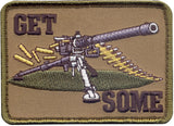Get Some Lead Rifle Gun Shooting Morale Embroidered Patch 2.5