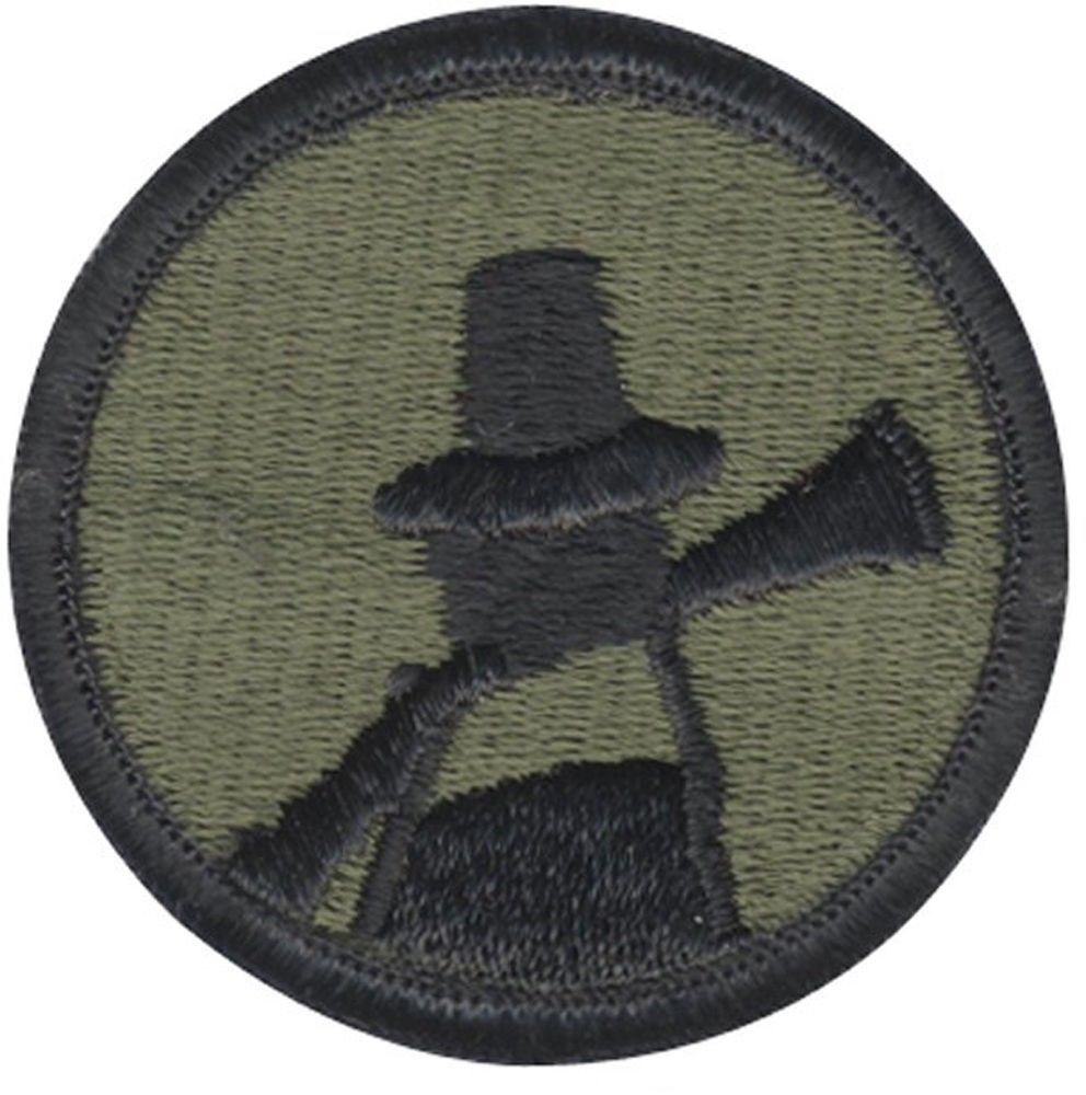Subdued US Army 94th Infantry Division Reserves Command Patch