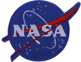 NASA Meatball Logo Official with Hook & Loop Patch 4-3/4
