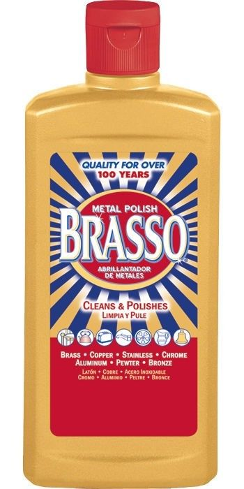 Brasso Metal Polish & Cleaning Liquid 8oz.