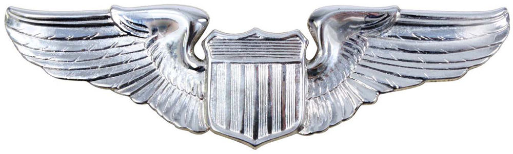 US Air Force USAF Pilot Wing Insignia Pin