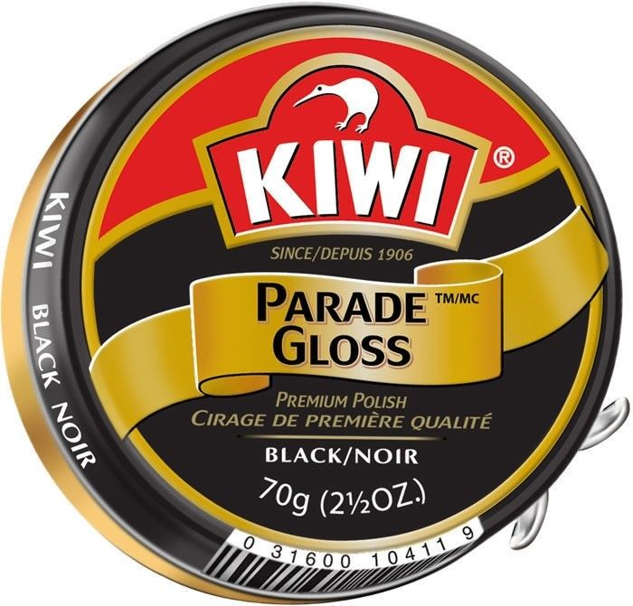 50 Pack - Kiwi Black Large Parade Gloss 2.5oz. Premium Shoe Polish