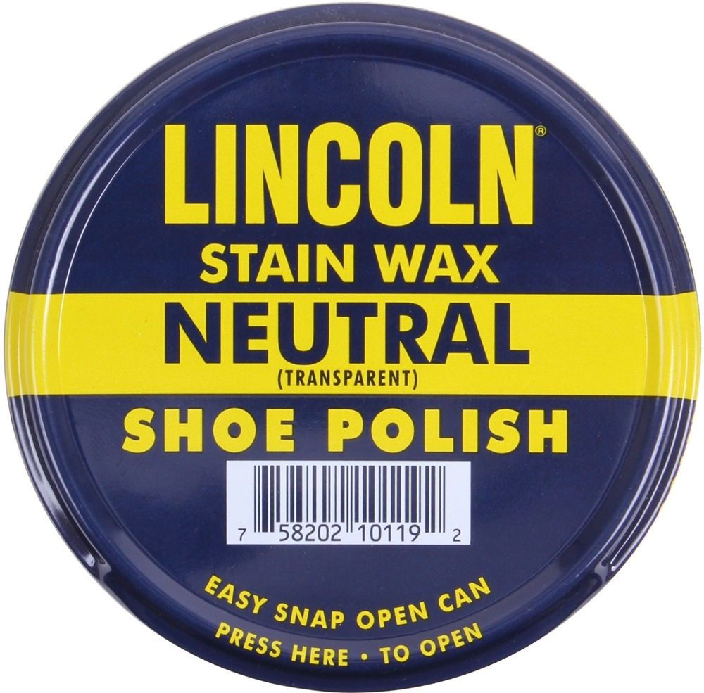 Lincoln USMC Neutral Stain Wax Shoe Polish