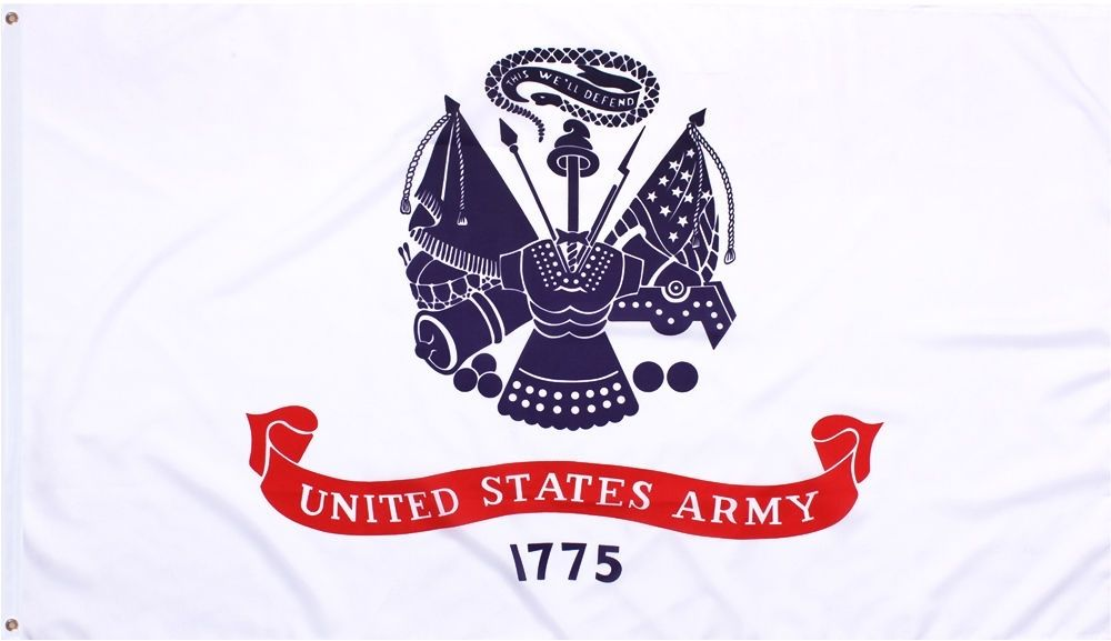 United States Army This We'll Defend 1775 US Army Flag 3' x 5'