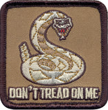 Dont Tread On Me Embroidered Morale Patch 2.5