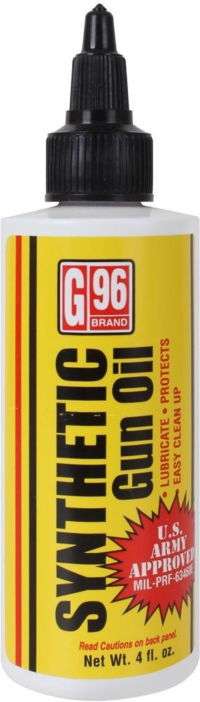 G96 Synthetic CLP Gun Oil 4 Ounces