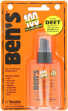 Ben's Military 100% Deet Tick & Insect Repellent Spray Pump 1.25oz