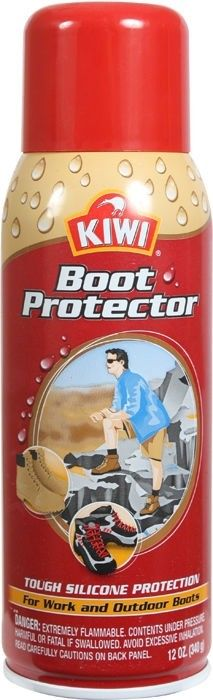 Kiwi Military Aerosol Tactical 12 Oz Boot Protector