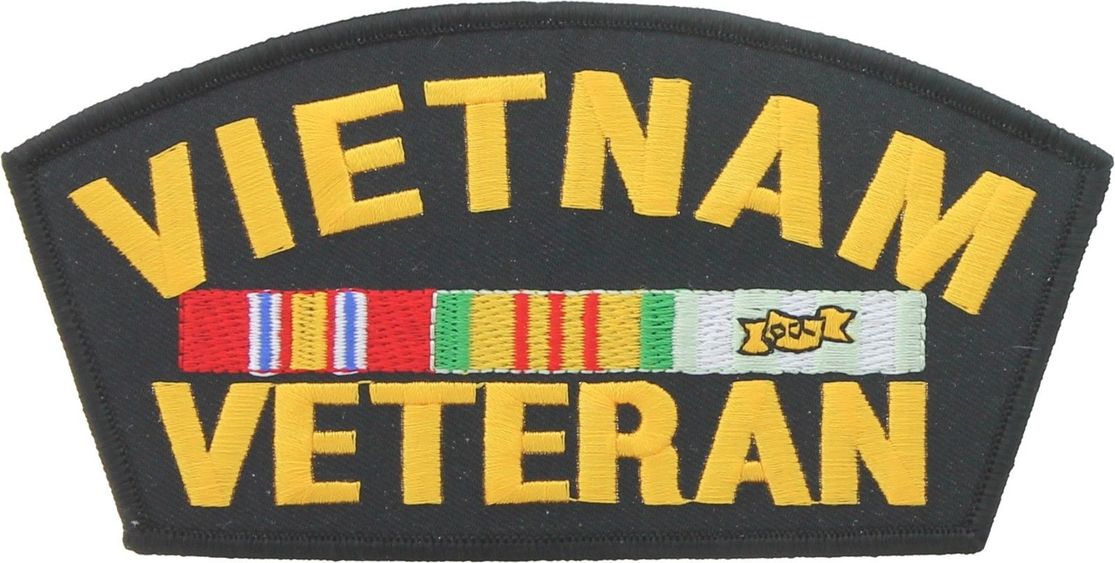 Vietnam Veteran Iron/Sew on Patch - 6 Inches