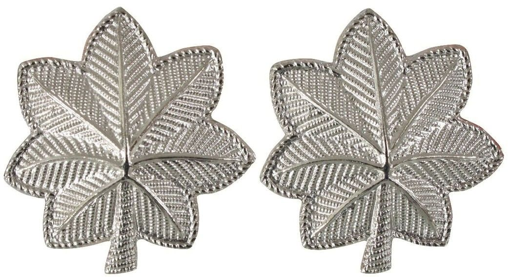 Silver Polished Lieutenant Colonel United States Army Rank Insignia Pin