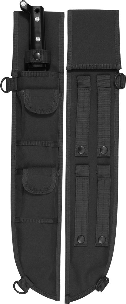 Black Tactical MOLLE Machete Sheath Case Cover 18
