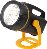 Black 13 Watt LED Lantern Flashlight With Stand