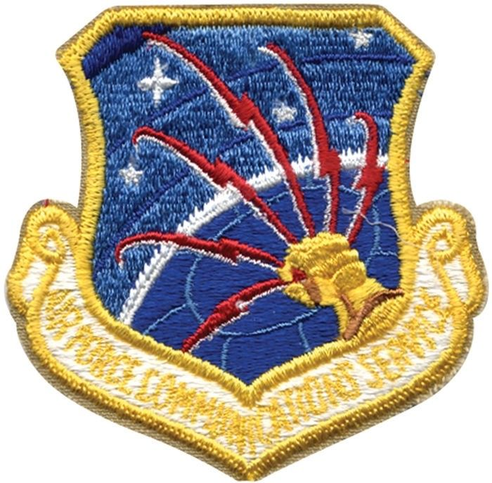 United States Air Force Communication Service Patch